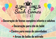 Saah Gomes Festas em Taubaté