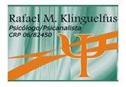 Rafael Monteiro Klinguelfus  Psicologia | Psicanálise CRP 06/82.450 em Taubaté