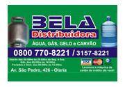 Bela Distribuidora de Água, Gás,  Gelo e Carvão