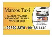 Marcos Táxi  em Lorena