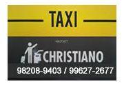 Táxi Christiano - Ponto Santa Edwiges  em Lorena