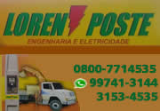 Loren Poste Engenharia e Eletricidade / Locação de Munck em Lorena