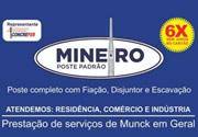 Mineiro Poste Padrão em SJC