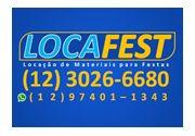 LOCAFEST - Locação de Materiais para Festas