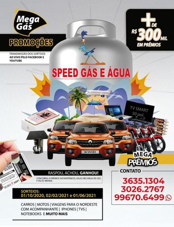 Speed Gás e Água