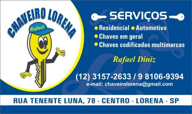 Chaveiro Lorena (Rafael Diniz)