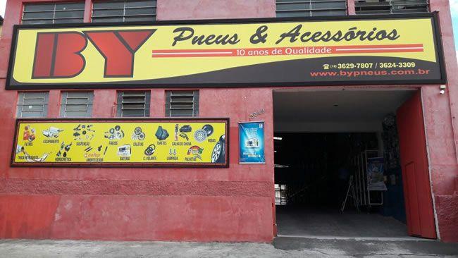 By Pneus & Acessórios