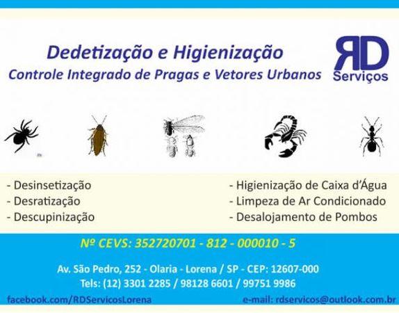 RD Serviços - Dedetização e Higienização