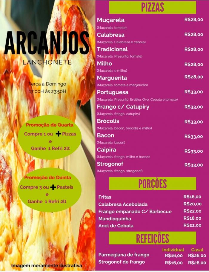 Arcanjos Lanchonete e Sorveteria- Disk Entregas