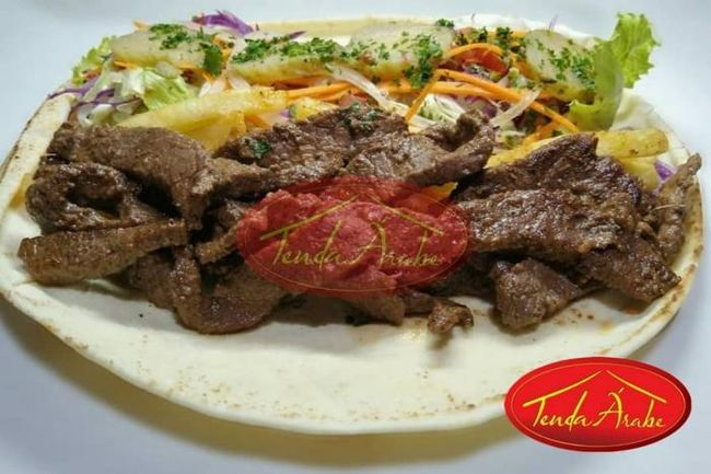 Tenda Árabe Delivery Culinária e Lanches Árabes Shawarma