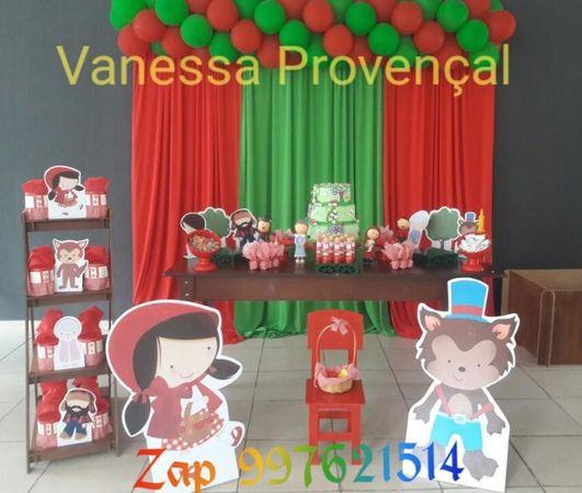 Vanessa Bolo Fake - Pegue sua Decoração e Monte