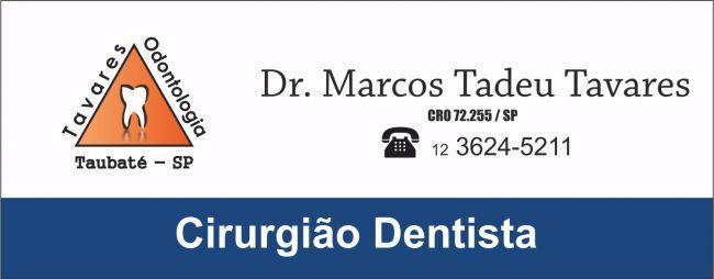 Dr. Marcos Tadeu Tavares Cirurgião Dentista
