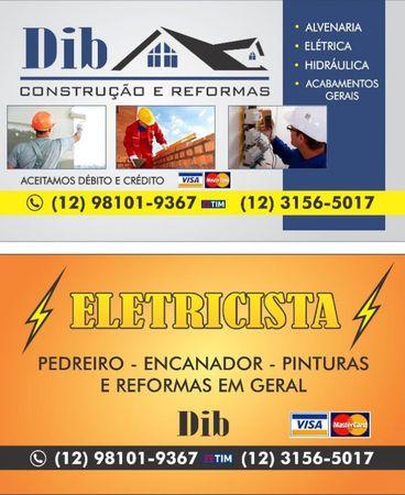 DIB - Eletricista - Encanador - Construção e Reformas