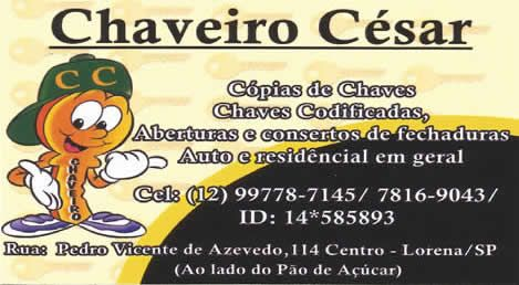 Chaveiro César