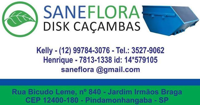Saneflora Disk Caçambas