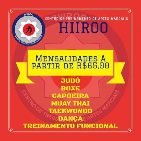 Hiiroo - Centro de Treinamento de Artes Marciais