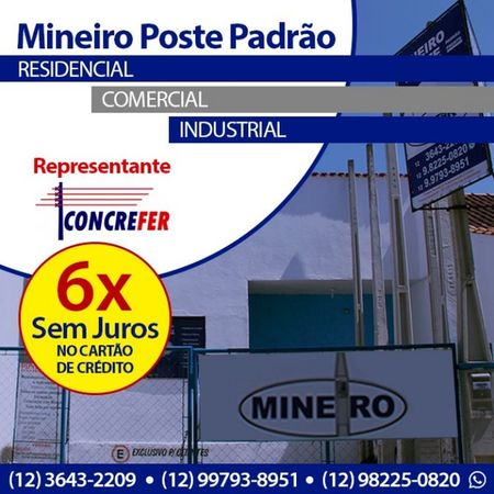 Mineiro Poste Padrão Pinda