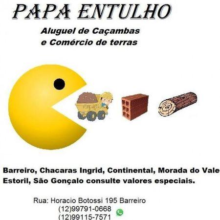 Papa Entulho - Aluguel de Caçambas