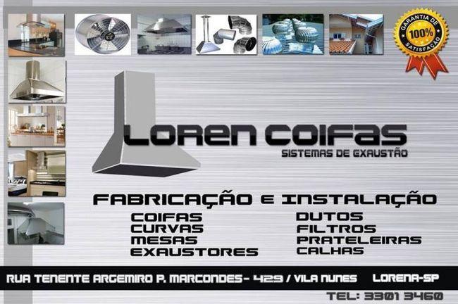 Loren Coifas Sistema de Exaustão
