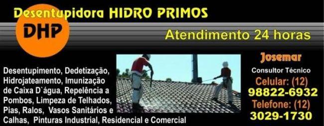 Desentupidora HIDRO PRIMOS