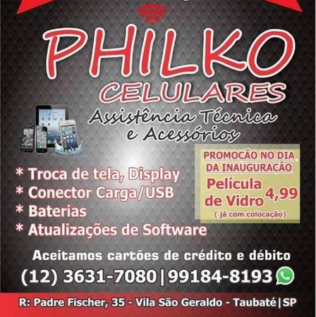 Philko Celulares - Assistência Técnica e Acessórios