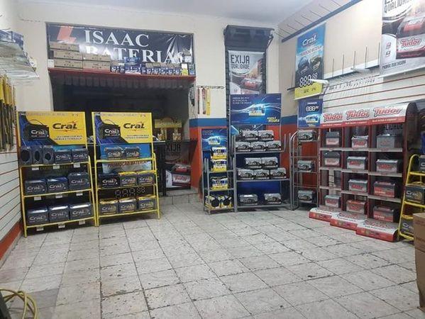 Isaac Baterias - Disk Baterias