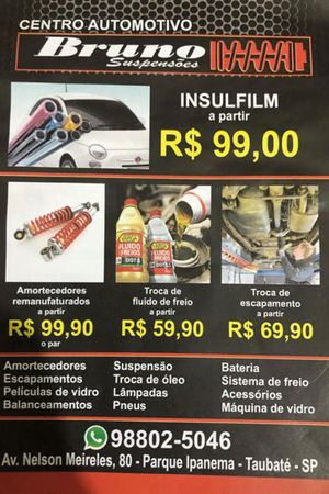 Bruno Suspensões