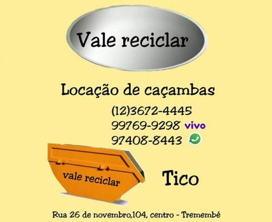 Vale Reciclar - Locação de Caçambas