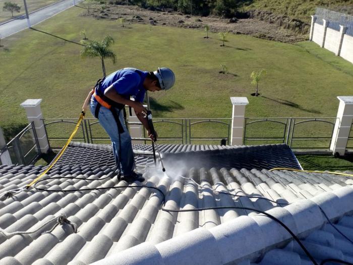 Limpa Pedra - Lavagem, Pintura de Telhados e Pedras
