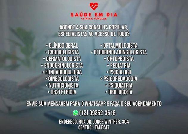 Saúde em Dia - Clínica Popular