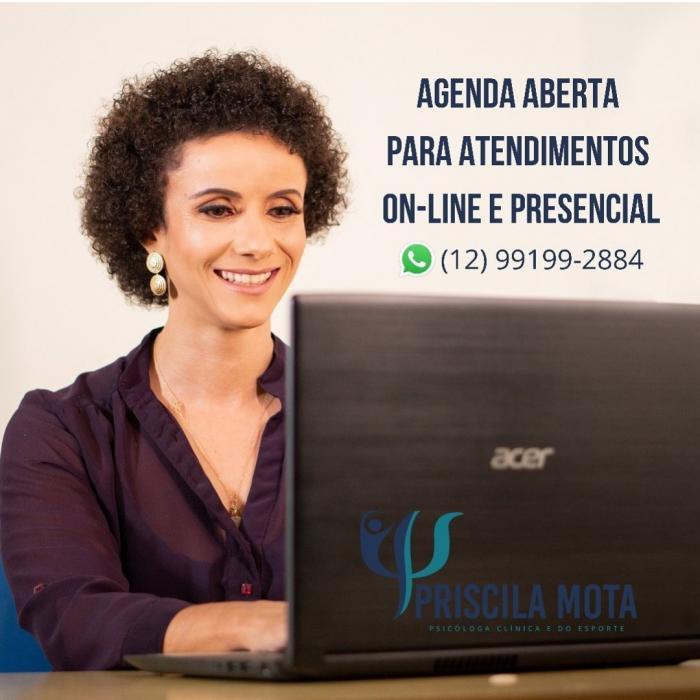 Priscila Mota David  - Psicóloga Clínica e do Esporte - CRP 06/107557