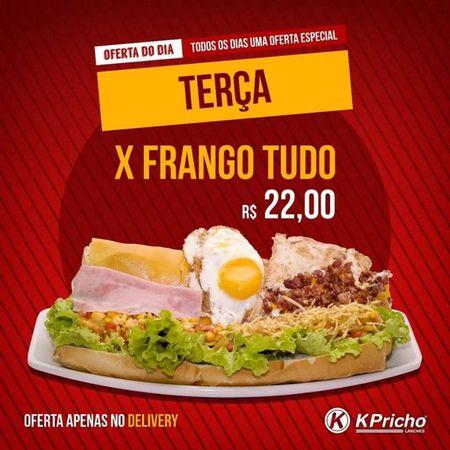 K-Pricho Lanches  Santa Terezinha