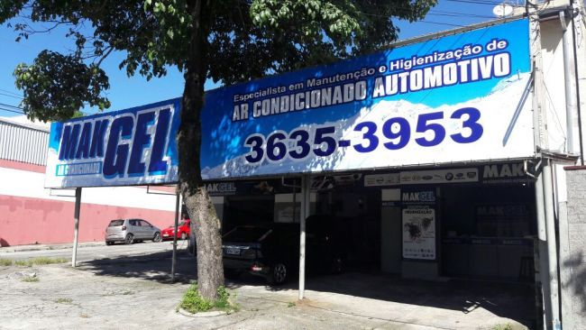MakGel Ar Condicionado Automotivo