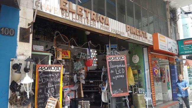 Pimenta Elétrica Taubaté
