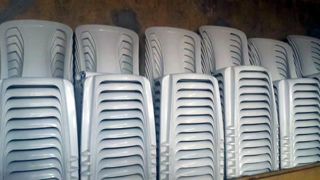 Servo Mesas, Cadeiras, Freezer, Tampões