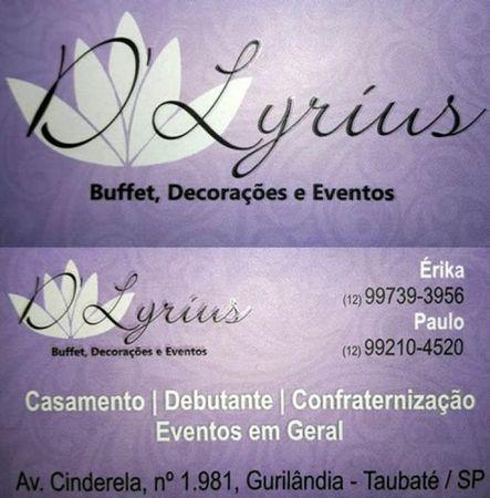 D' Lyrius - Buffet e Decoração